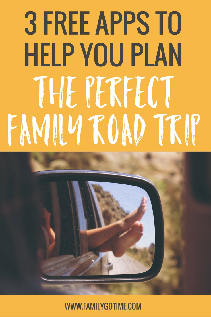 It's time to plan your next vacation! Opt for a family road trip, and these 3 free apps to help you plan a smooth road trip from start to finish!