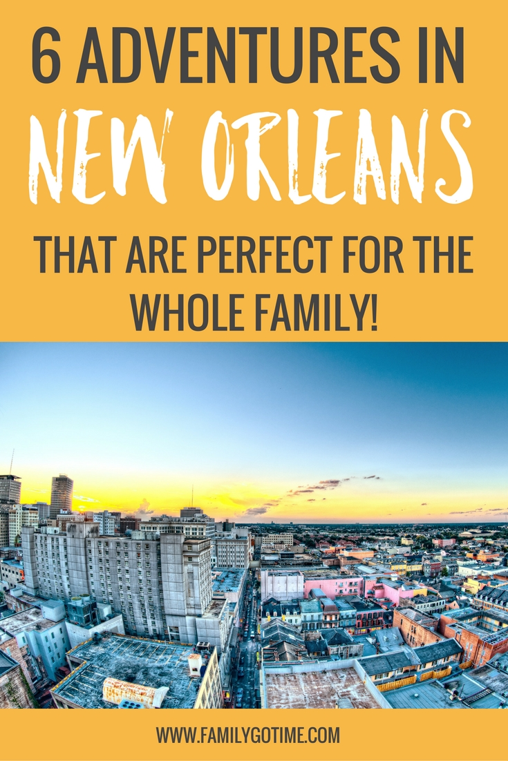 If you plan on going to New Orleans with kids, here are a few family-friendly activities to help you take it easy in the Big Easy.