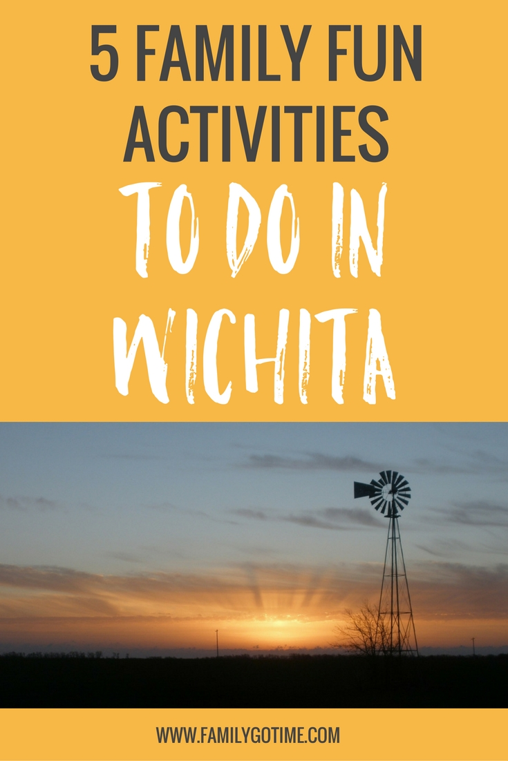 Once upon a time, we found ourselves in Kansas looking for fun things to do in Wichita. We did some research and decided to make it a family destination.