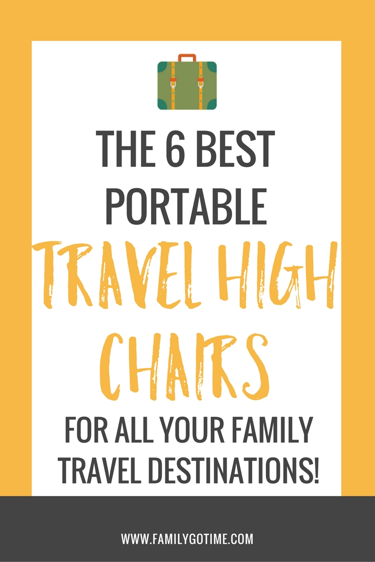 When you travel with kids, a meal can easily turn into a game of up and down and food everywhere! All that is solved with these 6 best portable high chairs!