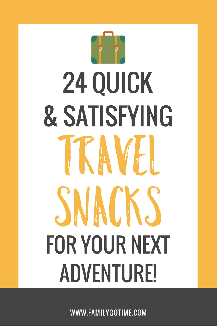 Traveling near or far is an adventure. Whether it's a flight or a road trip, make sure your have healthy travel snacks to keep you satisfied!