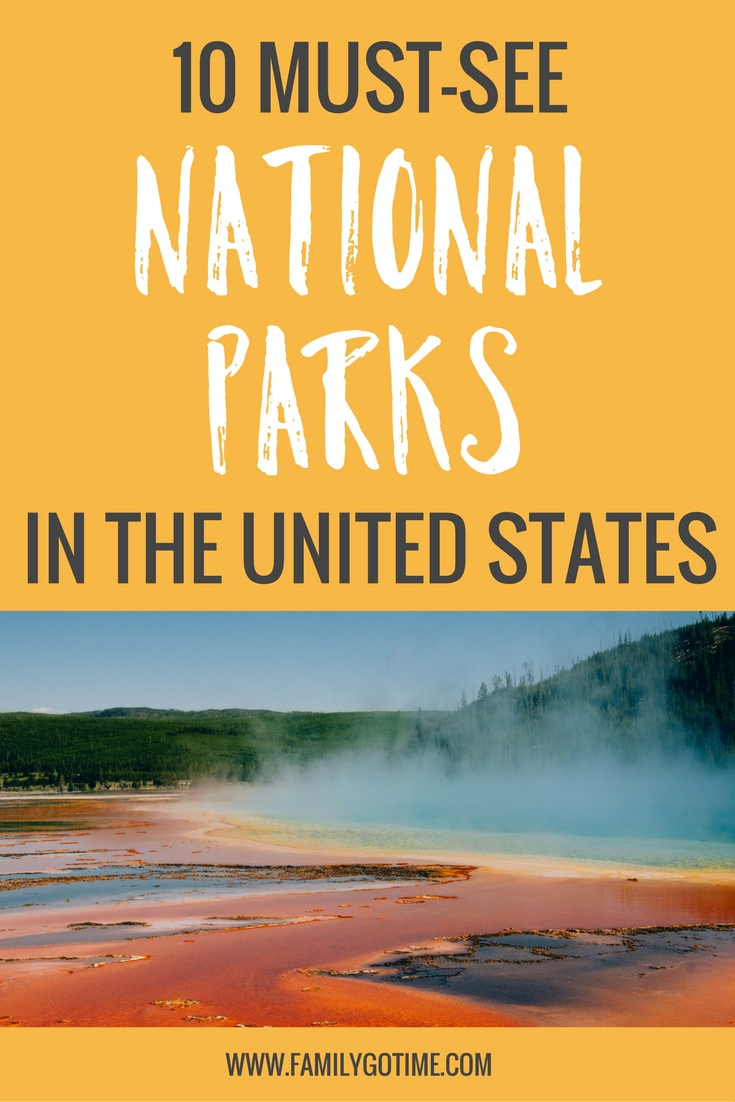 Must visit national parks! Packed full of history and beauty, each and every National Park offers a unique experience. Here are some exceptional and must see National Parks!