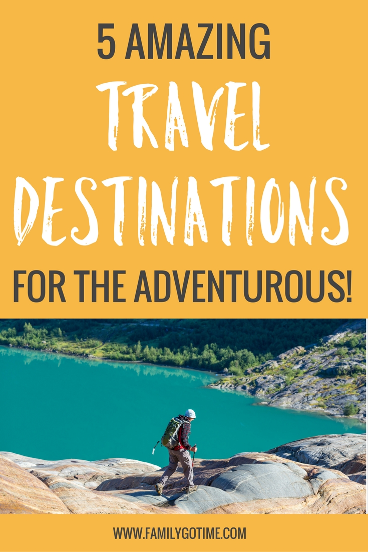 Check out these vacations for active people! If you love being active and thrives with adventure, check out these great adventure travel destinations. What's your favorite adventure vacation?