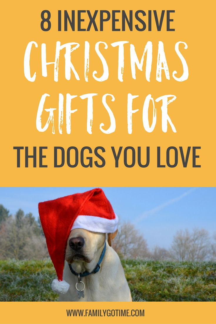 Now that we are celebrating our third Christmas with our beloved small canine, we've decided to add a few Christmas gifts for dogs that she can enjoy.