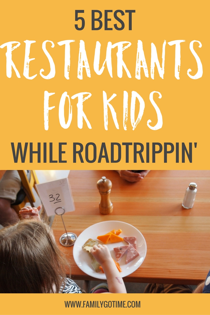 One of the best pieces of advice that I received before our road trip was what the best restaurants for kids were and why and here's what I learned!