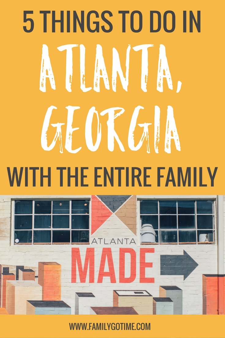 Atlanta is rapidly on the rise as one of the best cities for families. Here are 5 things to do in Atlanta for the entire family!