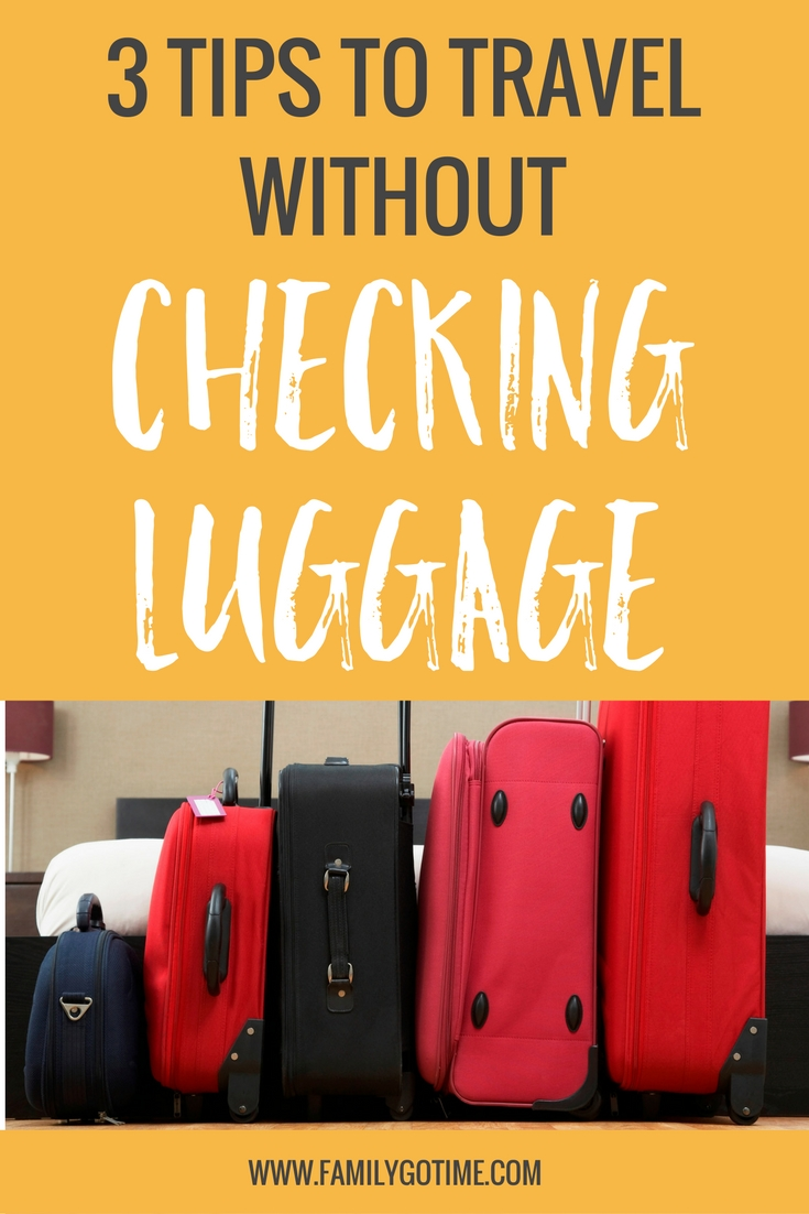 Next time you fly, make use of these helpful carry-on packing tips that will ensure you can travel without checking luggage ever again!