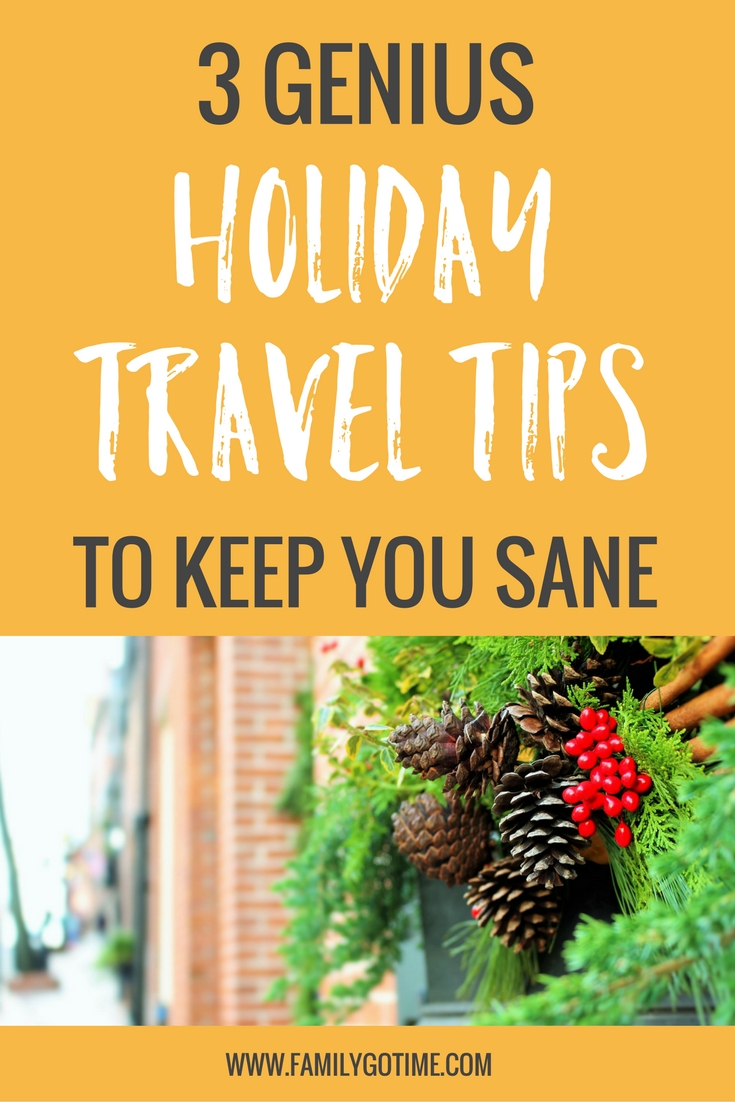 The holidays are one of the busiest travel seasons, but the bustling crowds don't have to turn you into the Grinch with these holiday travel tips.