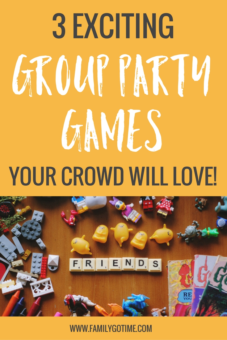 Not everyone can gather around the monopoly board or poker table, so the key is to choose group party games everyone can participate in and enjoy! These holiday party games are great for a crowd!