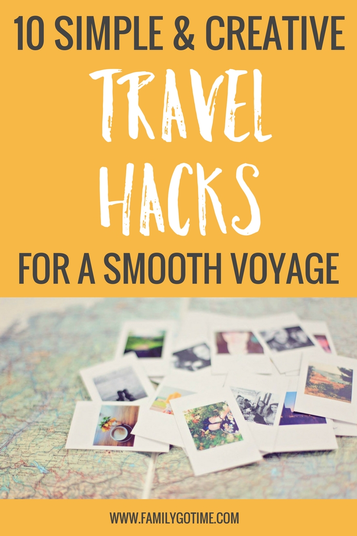 Whether you're hitting the road with your family or flying solo for a business trip, the logistics of travel can be stressful and impede on the fun travel experience.  So say goodbye to overpacked suitcases and unhappy flights! Here are the 10 best travel hacks to help make your voyage more efficient and comfortable.
