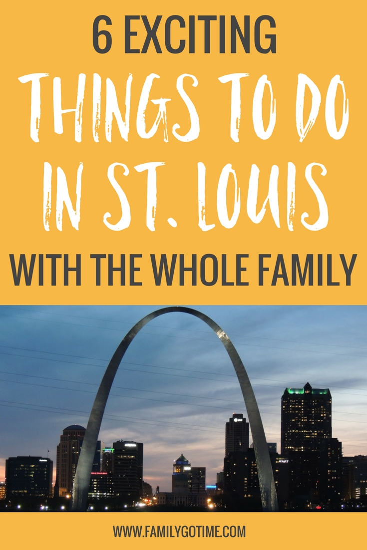 Whether it's your main destination or you're just passing through on a road trip, St. Louis is a family-friendly city on the cusp of the Midwest with lots of hidden gems to offer!  Here are 6 fun things to do in St. Louis for kids of all ages.